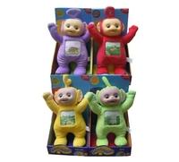 33CM Stuffed & Plush Animals Toy educational Baby Toys Teletubbies Po Laa-Laa Dipsy Tinky Winky Children Partner Free Shipping