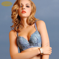 Bra b02908 olive green blue yellow-legged seagull brown b-c 70 - 85