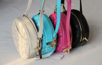 Small bags drum package shoulder bag cross-body women's handbag 260g