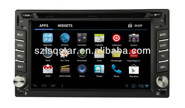 Low price Android 4.0 6.2 inch 2 DIN car radio system for HYUNDAI LAVITA 2004-2010(China (Mainland))