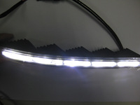 TOP Quality LED DRL Toyota Land Cruiser 200 daytime running lights Free Shipping by EMS