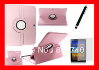 Leather Book Cover Case for Samsung Galaxy Tab 3 10.1 P5200 Protective Shell Skin for P5200 Protector+1 Stylush Free Shipping
