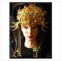 Han Chinese clothing retro bridal tiara crown Xiu He installed Coronet