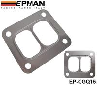 EPMAN T4 Turbo Turbine inlet divided gasket Stainless Steel304 Gasket For T04 turbo HQ turbo inlet gasket EP-CGQ15