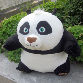 Free Shipping!Kung Fu Panda plush doll cosplay children's playmate doll(China (Mainland))
