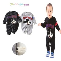 Wholesale + free shipping! 2014 new children's cartoon costume, 4 PCS/lot, baby long sleeve jumpsuit, boys long sleeve clothes.