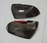 Carbon Fiber Side Mirror Cover For 2014 BMW 5 ActiveHybrid&Series Touring&Series Gran Turismo&Series Replacement Free Shipping