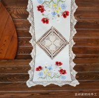 Poppy Handmade  dining table runner coffee table tablecloth  40x87cm