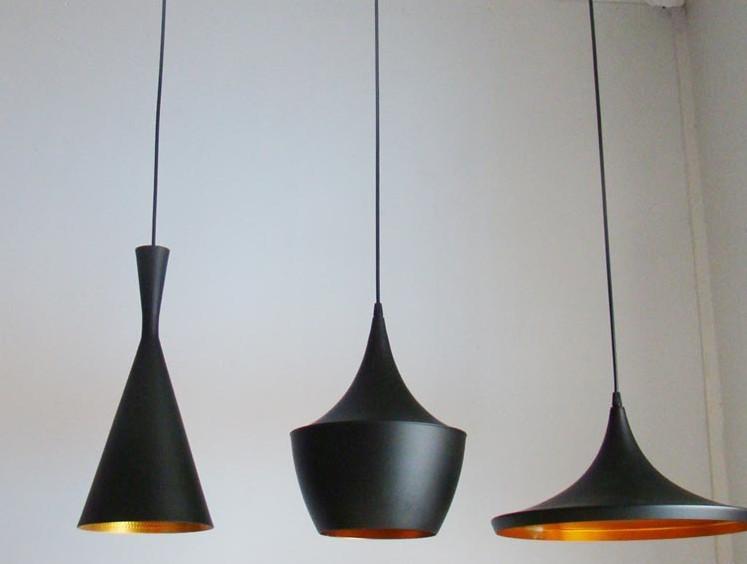 최고 품질의 현대적인 톰 딕슨 비트 침실 주방 하우스 바 검은 색 ...