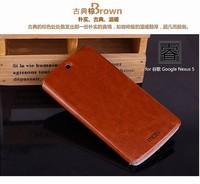 New available flip leather cover case for LG google Nexus 5 Free DHL Shipping MOQ:50pcs/lot B0208