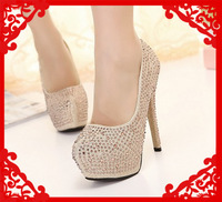 prom heels wedding shoes women high heels crystal high heel shoes woman shoes platform pumps shoes