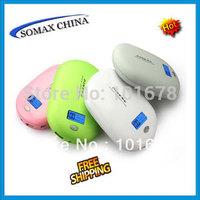 Free Ship Original PINENG power Bank 10000mAh PN-938 with LED Screen Dual USB charge for phone retail box