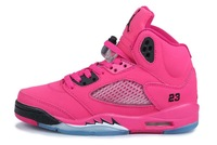 Free shipping 5 retros women J5 shoes for sale J JD V red pink purple gray designer basketball sportwear 36-40