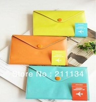Free Shipping!! 20 Pcs / Lot Fashion Simple and Stylish Credit Card Bag Card Holder Passport Holder