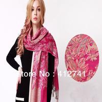Bohemia national wind racking pattern women autumn and winter cappa super long warm scarves pallium wraps see shawl