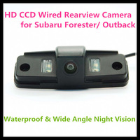 Big Promotion HD CCD car rear view camera for Subaru Forester/ Outback with 728*582 pixel 170 degree Angle night vision