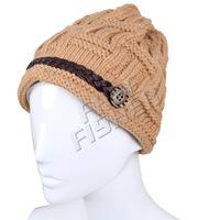 Women's Warm Knit Hat Fashion Woolen Beanie