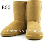 High Quality BGG Women's Boots Womens classic short Boot Snow boots Winter boots leather boots With 1pairs/lot