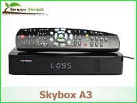 New model SKYBOX A3 original support wifi, YouTube,Support MPEG-5;HDMI 1.3,NIT search PVR(store in USB disk) fedex free shipping
