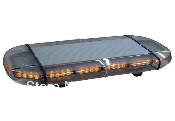 United Safe free shipping low profile GEN III 1 Watt super bright LED mini Lightbar(amber/blue/red/white)(China (Mainland))