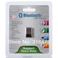 100pcs/lot 100 meters Mini Bluetooth USB dongle v4.0+EDR  CSR(I-BTD-18C3-2) Wholesale dropship