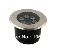 AC85-265v or DC12v 6W RGB floor underground lamp light led