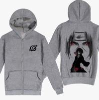 Naruto hoodie Sweatshirt outerwear hlwg cardigan zipper hoody