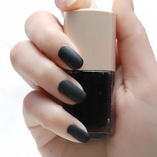 Bgirl scrub quick dry matt nail polish eslpodcast oil scrub black 115(China (Mainland))
