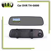 Original HD Rear View Mirror Recorder 1920x1080p 5.0MP 720p 30fps Camera Video Registrator Dash Camcorder TH-G600 Car DVR