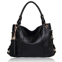Fashion women genuine leather bags designer handbag vintage shoulder messenger bag cowhide leather  totes 121201