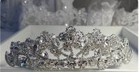 Austrian crown bride crown three-dimensional crystal diamond hair accessories