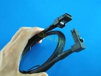 2Pcs/Lot 3FT Angled 90D Mini SAS 36Pin SFF 8087 To SFF 8087 Mini SAS 36Pin  Data Cable 1M