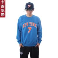 FREE SHIPPING Card 7 anthony basketball cotton belt long-sleeve T-shirt male small sports sweatshirt  Justin bieber