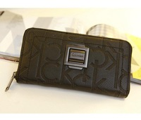 2014 Brand new fashion wallet leather bags High quality brand wallet day clutch handbags