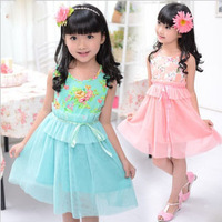Fashion girls princess skirt for summer wholesale and retail with free shipping