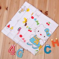 free shipping 100% cotton scarf child handkerchief small milk bib facecloth 100% cotton small towel bib