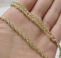 fashion chain bright gold necklace female long design scfv necklace free shipping 30pcs/lot