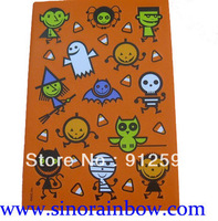 Halloween static cling stickers sheet
