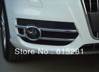 Q3 2012+,Chrome Front Fog Lamp Cover Trim,Type B,Free Shipping