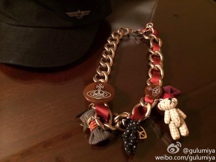 Punk necklace duck syncronisation(China (Mainland))