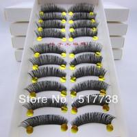 Top Quality Super Thick Black False Eyelashes Eyelash Fake Eye Lashes SX26