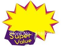 E2 New Round Pop super value Label Tie String Price Tag , 10pcs/lot
