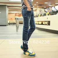 Male male casual denim jeans skinny pants male trousers tx004-p68