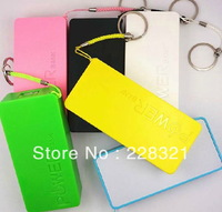 Hot 5600mAh USB External Backup Battery Power Bank for iPhone iPod Samsung HTC with Micro usb cable + Retail Pakcage 500pcs