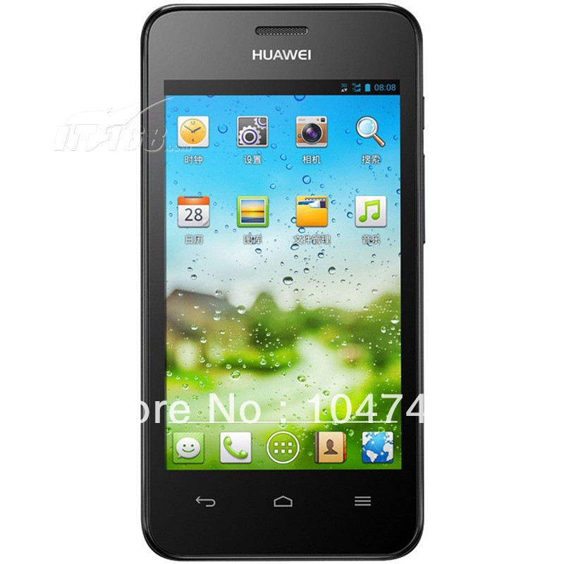 Original Huawei Y325 phone 4.0 Inch 256mb RAM MTK6572 1.3GHz Android2.3 os(China (Mainland))