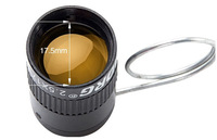 Super clear Agent yellow Mini telescope coated thumb single cylinder portable 2.5 times binocular