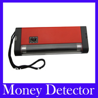 Free Shipping Currency Detector--2 in 1 Handheld UV Light Torch Lamp Money Detector .5pcs/lot