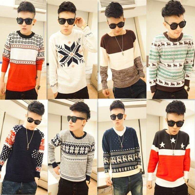 Модные Мужские Пуловеры 2015 Доставка