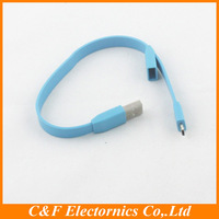 multicolor 270 mm mini Bracelet USB Data Sync Charge Cable For HTC LG Sony Samsung s4 s3 s2 note Freeshipping