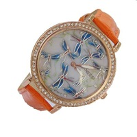 New Listing! Specials Fluttering Butterfly Fashion Casual Leather Quartz Watches Women